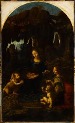 Fig. 5 Leonardo da Vinci (1452-1519), The Virgin of the Rocks, 1483 – about 1485, oil on wood transferred to canvas, 199 x 122 cm, Musée du Louvre, Paris, Département des Peintures (777). © RMN / Franck Raux.