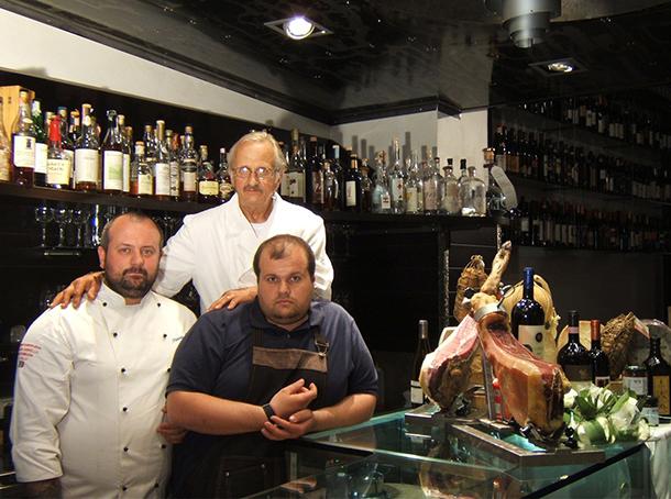 Marco, Pierluigi ed Alessandro Roscioli