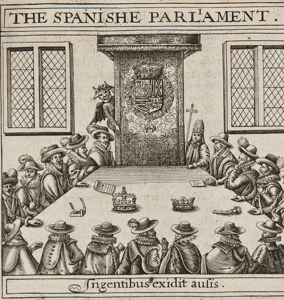 From Lot 73: Thomas Scott (c.1580-1626). Vox Populi, Or Newes from Spayne, translated according to the Spanish coppie. Which may serve to forewarn both England and the United Provinces how farre to trust to Spanish pretences. [London: unknown publisher], 1620.