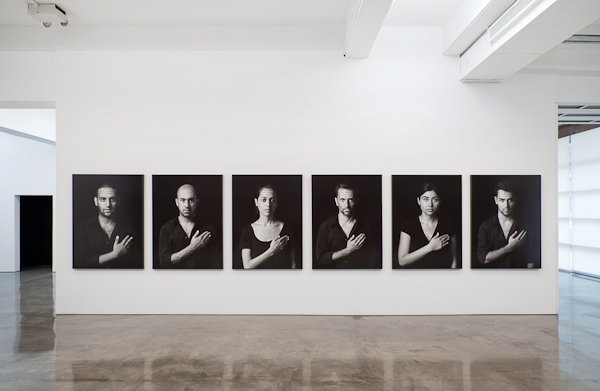 "Shirin Neshat ""The Book of Kings"". Installation View: Gladstone Gallery, New York. Photo David Regen. © Shirin Neshat. Courtesy Gladstone Gallery, New York and Brussels."