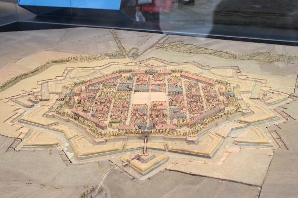 Plan-relief of Neuf-Brisach (1703-1706)
