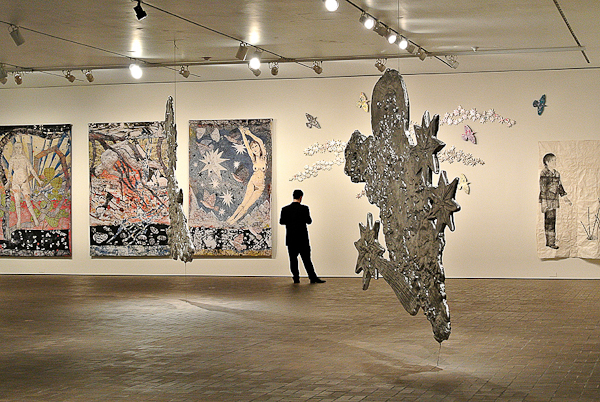 Kiki Smith, Tapestries. Photo © 2012 Virginia Raguin.