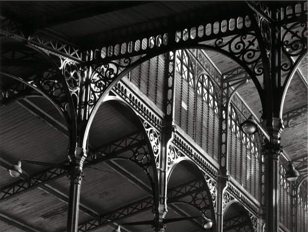 Structure de Baltard, 2 décembre 1968. © Atelier Robert Doisneau