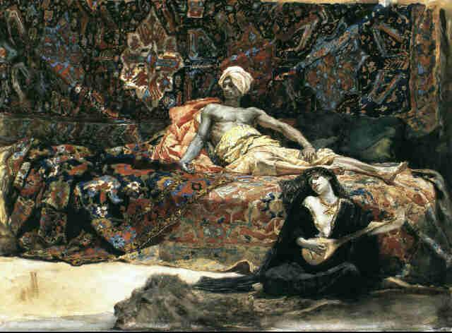Henri Regnault, Hassan et Namouna, 1870