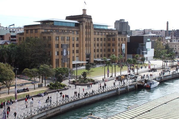 The Museum of Contemporary Art, Sydney. Photo © 2012 Alan Miller.