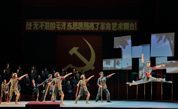 Nixon in China, a performance of The Red Detatchment of Women. Photo by Cory Weaver.