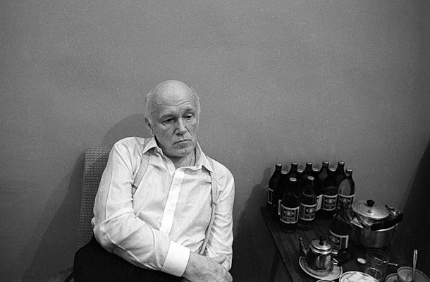 Sviatoslav Richter in late middle age
