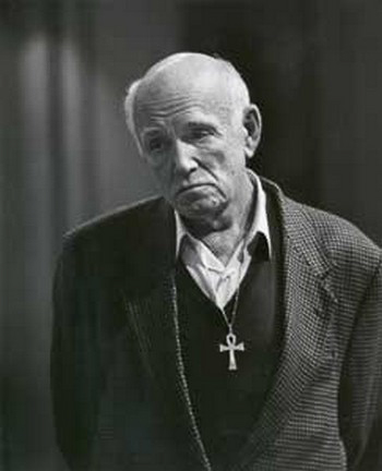 Sviatoslav Richter in Old Age with Ankh