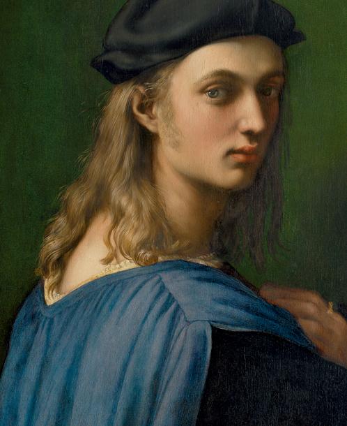 Raphael. Bindo Altoviti. Oil on panel, 59,7 x 43,8 cm (ca. 1516 - 1518) Washington, National Gallery of Art, Samuel H. Kress Collection 1943.4.33.