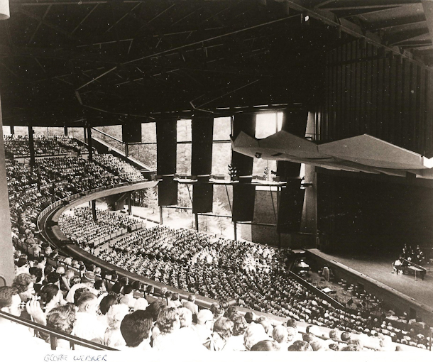 A SPAC concert in the early days