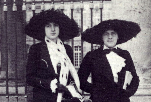 Lili and Nadia Boulanger.
