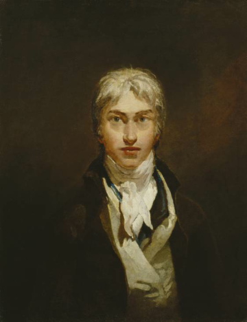 Turner, Self-Portrait, circa 1799.