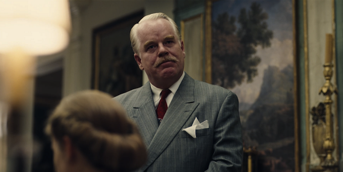 Philip Seymour Hoffman in Paul Thomas Anderson's The Master