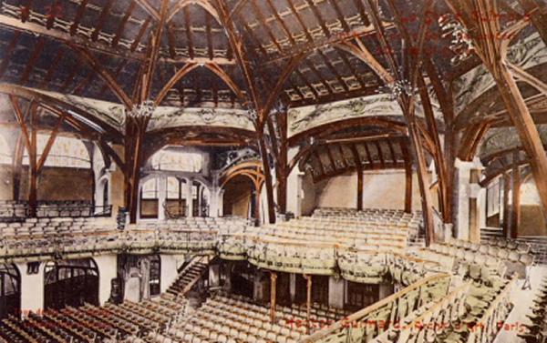 La Salle Humbert de Romans (1898-1901, démolie 1905).