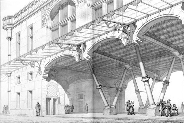 From Entretiens sur l'architecture, vol. 2 (1863) by Eugene Emmanuel Viollet-le-Duc.