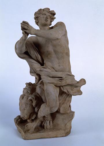 Fig. 8. Gian Lorenzo Bernini, Daniel in the Lions' Den c. 1655. Terracotta. Musei Vaticani, Vatican City, 2424