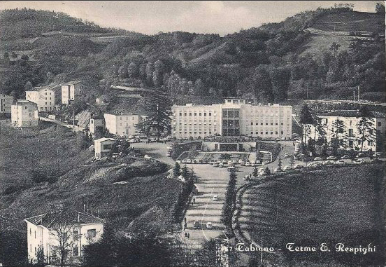 "The Terme ""E. Respighi"" at Tabiano in its glory days."