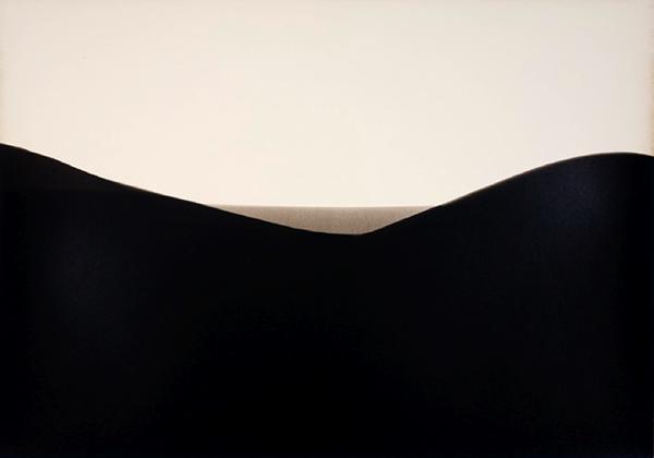 "FSC Allura Luste, exact expiration date unknown, ca. 1940, processed 2012 (#4). Gelatin Silver Print 10""x14"" unique by Alison Rossiter"
