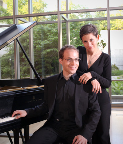 Orion Weiss and Anna Polonsky