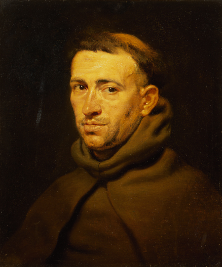 Fig. 7. Pieter Paul Rubens, Friar's Head. Oil on canvas. Copyright: The State Hermitage Museum.