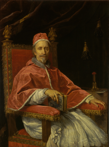 Fig. 6. Carlo Maratta, Pope Clement IX. Oil on canvas. Copyright: The State Hermitage Museum.