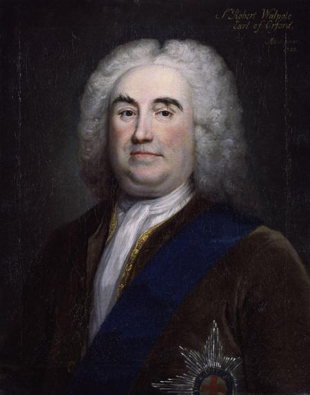 Fig. 1. Arthur Pond, Portrait of Sir Robert Walpole