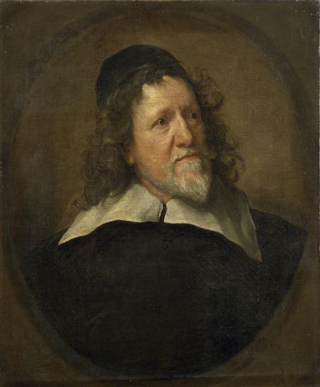 Fig. 8. Sir Anthony van Dyck, Portrait of Inigo Jones.  Copyright: The State Hermitage Museum.