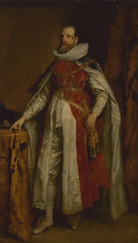 Fig. 10. Sir Anthony van Dyck, Portrait of Henry Danvers, Earl of Danby. Copyright: State Hermitage Museum.