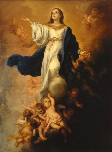 Fig. 4. Bartolomè Esteban Murillo, The Immaculate Conception. Oil on canvas in a William Kent designed frame. Copyright: The State Hermitage Museum.