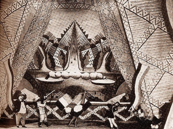Les Mariés de la Tour Eiffel (1922), Curtain.