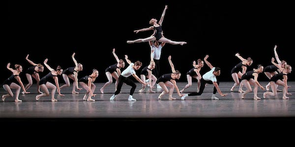 New York City Ballet in Balanchine-Hindemith The Four Temperaments. Photo from nycballet.com.