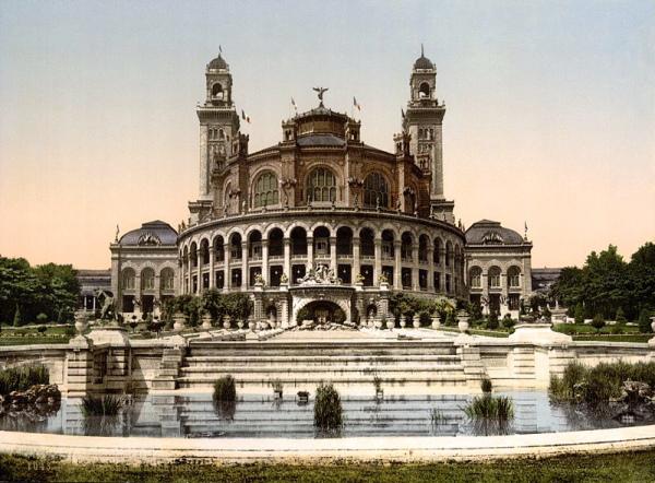 Le palais du Trocadéro (1878).