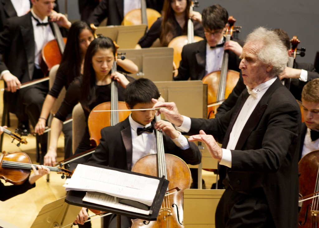Benjamin Zander conducts the Boston Philharmonic Youth Orchestra