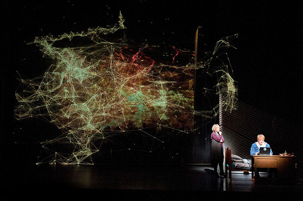 A Scene from Nico Muhly's Two Boys at the Metropolitan Opera.