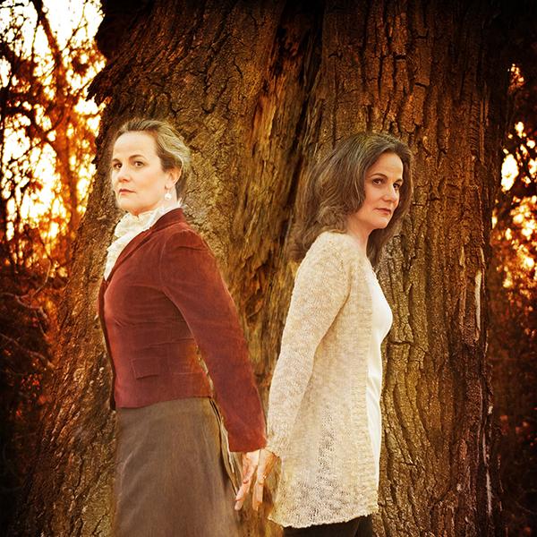 Mary Eva Kelly and Vivian Nesbitt. Photo Antonya Molleur.