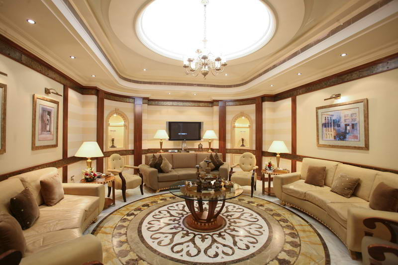 The interview site: VIP Lounge at Abu Dhabi Airport.