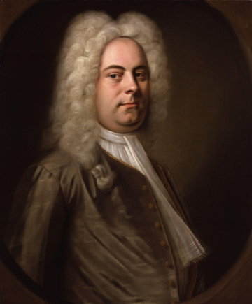 Portrait of George Frideric Handel by Balthasar Denner.