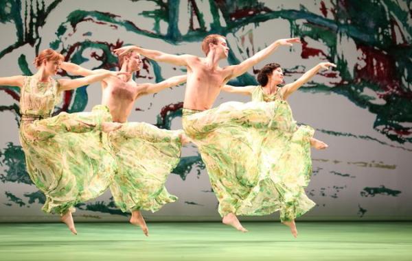 The Mark Morris Dance Group's production of Handel's Acis and Galatea. Photo © Ken Friedman.