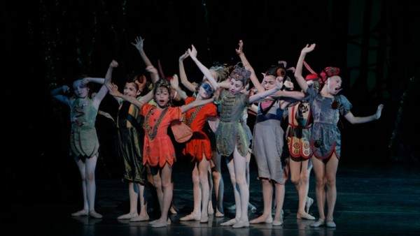 Students from the School of American Ballet. Photo Paul Kolnik.