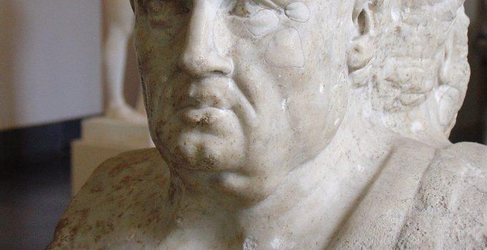 Seneca, from double herm of Socrates and Seneca. Antikensammlung Berlin.