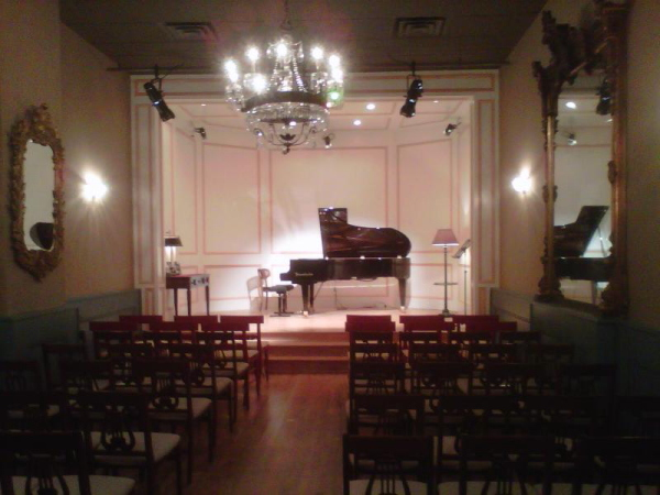 The Workshop for Musical Performance concert hall.