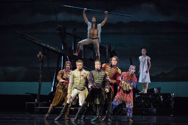 A Scene from The Tempest at the American Ballet Theater.