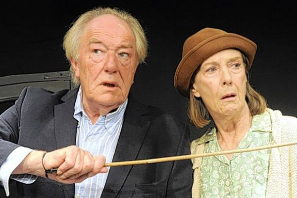Michael Gambon and Eileen Atkins in Beckett's All That Fall.