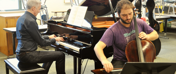 A chamber music session at pianoSonoma