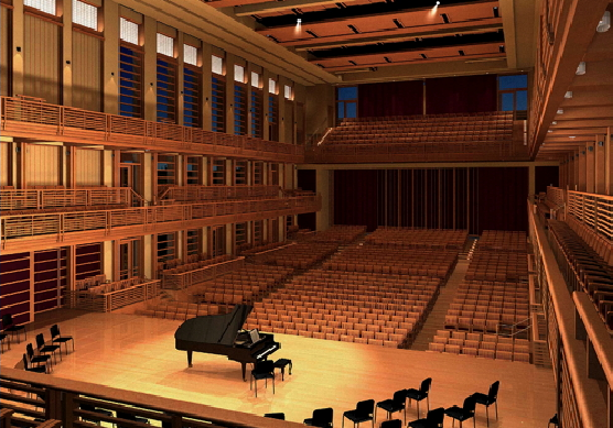 Weill Hall at the Green Music Center, Sonoma State University