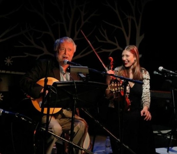 Mick Moloney and Athena Tergis in An Irish Christmas
