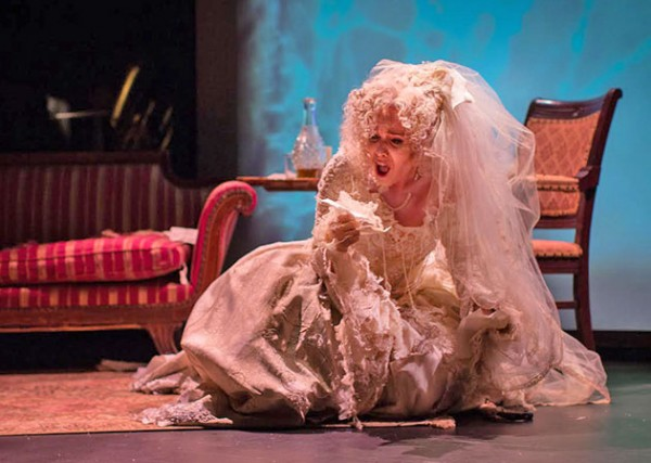 Heather Buck as Miss Havisham. Photo Kathy Wittman.