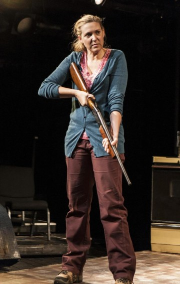 """Cassie Beck in """"The Insurgents"""""""
