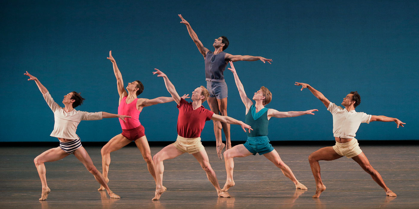 The New York City Ballet dances Paz de la Jolla.