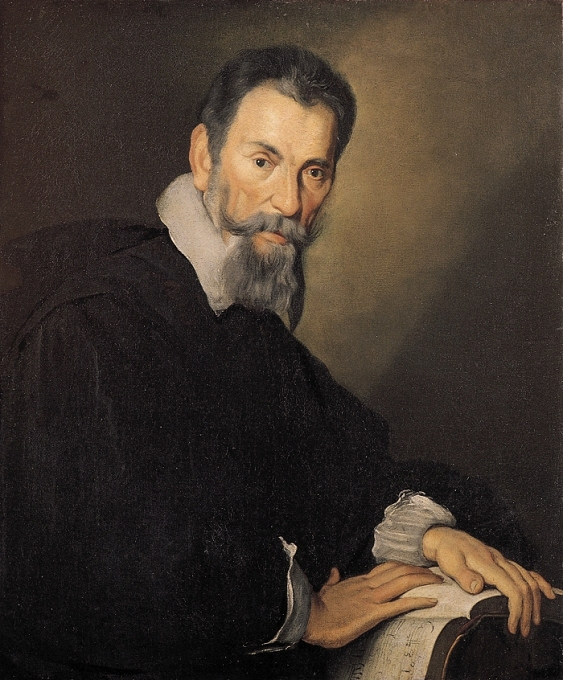 Bernardo Strozzi, Portrait of Claudio Monteverdi (c.1630). Oil on canvas. Tiroler Landesmuseum Ferdinandeum.